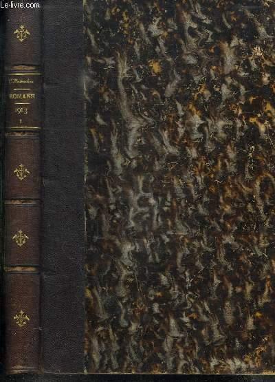 L ILLUSTRATION ROMANS 1. ROULETABILLE CHEZ LE TSAR DE GASTON LEROUX. LES ANGES GARDIENS DE MARCEL PREVOST.