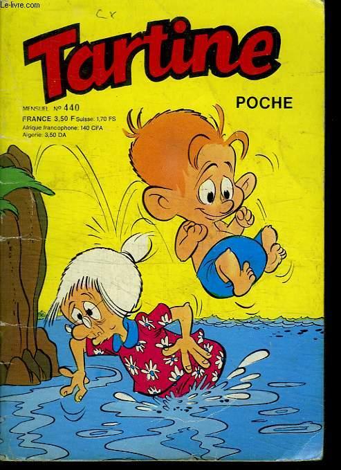 TARTINE POCHE N°440. TARTINE EN ESCLAVAGE.