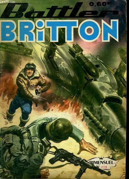 BATTLER BRITTON N° 219. QUI EST LE TRAITRE ?