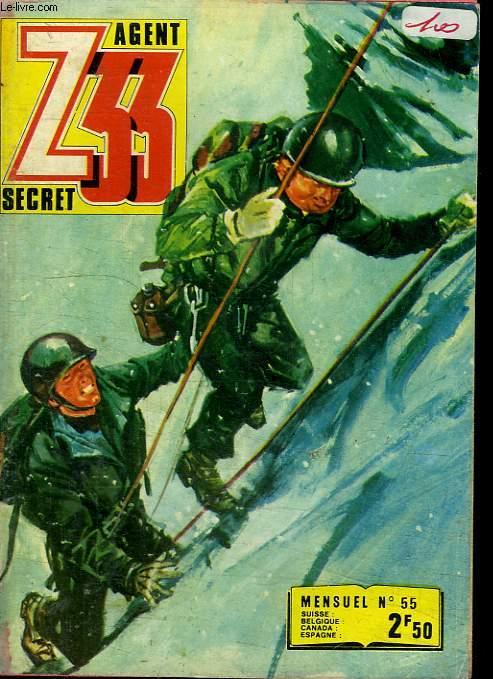 Z33 AGENT SECRET N°55. LES OTAGES DU CIEL.