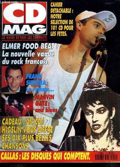 CD MAG N° 9 DECEMBRE 90. SOMMAIRE: HIT CD MAG RTL. LA CALLAS EN COMPILATION. LES ANNEES 90 DE MOZART. PORTRAIT DE MARVIN GAYE...