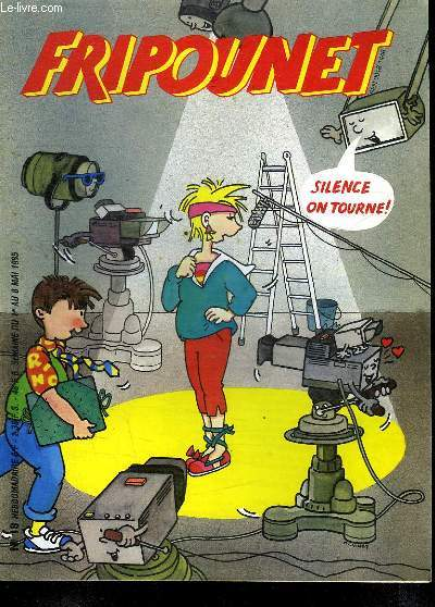 FRIPOUNET N° 18. DU 1ER AU 8 MAI 1985.