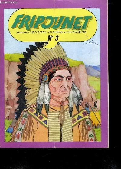 FRIPOUNET N° 3. DU 16 AU 23 JANVIER 1985.