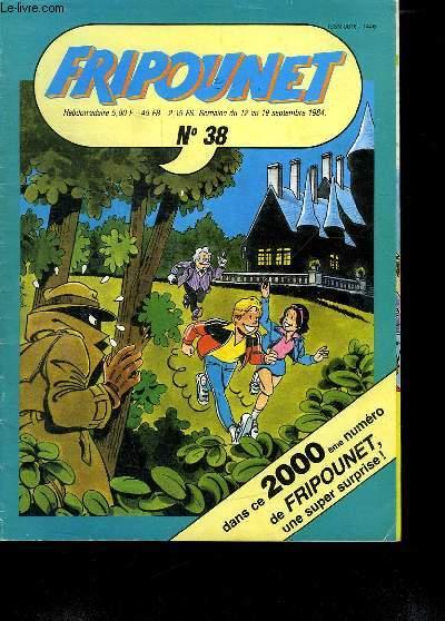 FRIPOUNET N° 38. DU 12 AU 19 SEPTEMBRE 1984