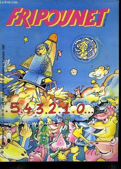 FRIPOUNET N° 39. DU 25 SEPTEMBRE AU 2 OCTOBRE 1985.