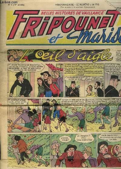 FRIPOUNET ET MARISETTE N° 5. 1952.