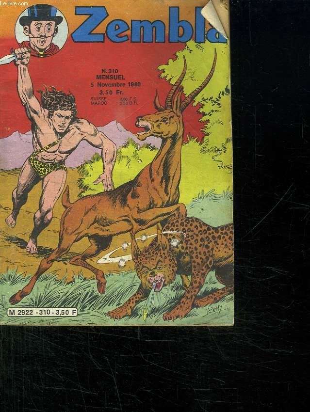 ZEMBLA N° 310. 5 NOVEMBRE 1980. LA FORET ENSORCELEE.