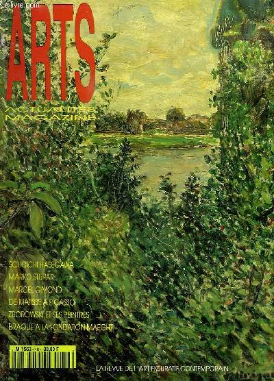 ARTS ACTUALITES MAGAZINE N° 48. SEPTEMBRE 1994.