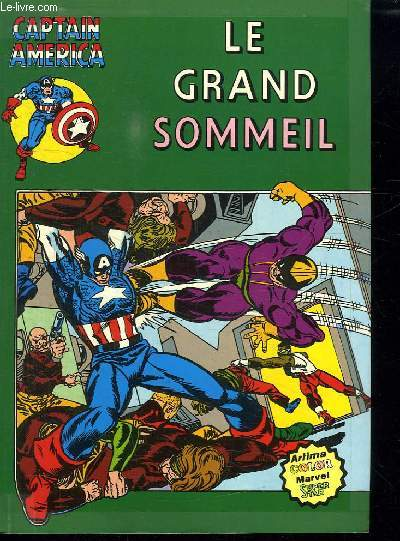CAPTAIN AMERICA N°10. LE GRAND SOMMEIL.