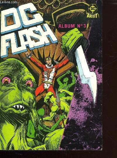 ALBUM N° 3. DC FLASH. N° 5 ET N° 6.