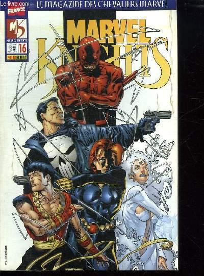 LE MAGAZINE DES CHEVALIERS MARVEL. MARVEL KNIGHTS N° 16.