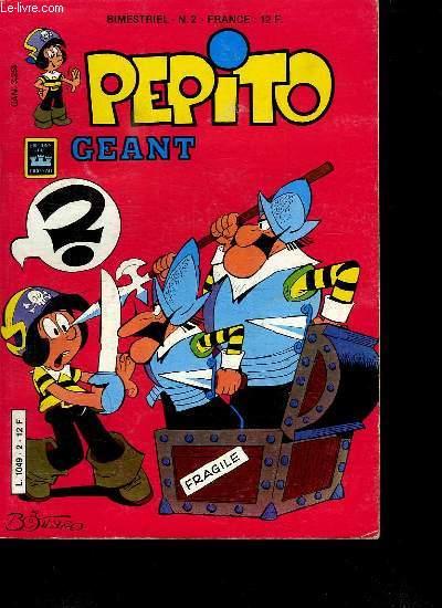PEPITO GEANT. N°2. L ILE AU DIABLE.