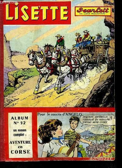 LISETTE ALBUM N° 52. DU N°40 AU N° 53.