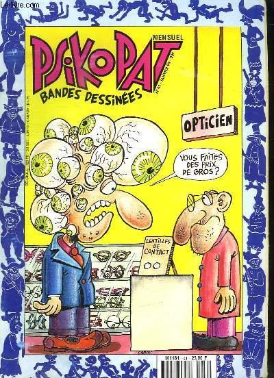 PSIKOPAT N° 41. BANDES DESSINEES.