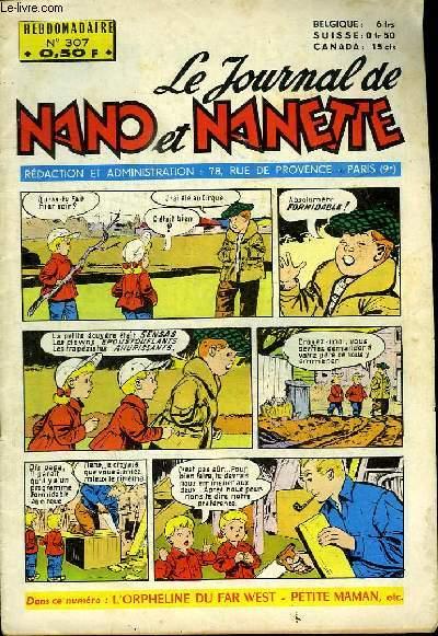 LE JOURNAL DE NANO ET NANETTE N° 307.