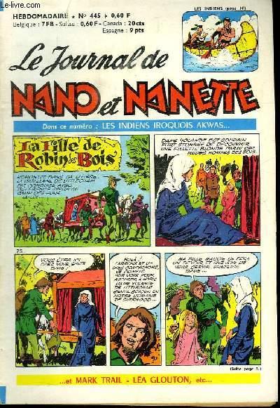 LE JOURNAL DE NANO ET NANETTE N° 445.