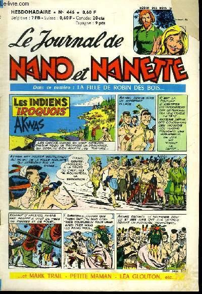 LE JOURNAL DE NANO ET NANETTE N° 446.