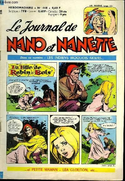 LE JOURNAL DE NANO ET NANETTE N° 448.