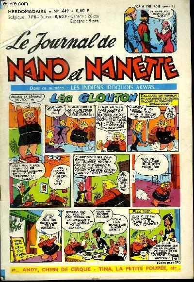 LE JOURNAL DE NANO ET NANETTE N° 449.