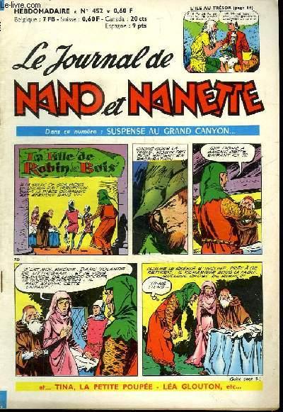 LE JOURNAL DE NANO ET NANETTE N° 452.