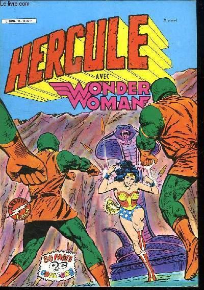 HERCULE N° 10. AVEC WONDER WOMAN.