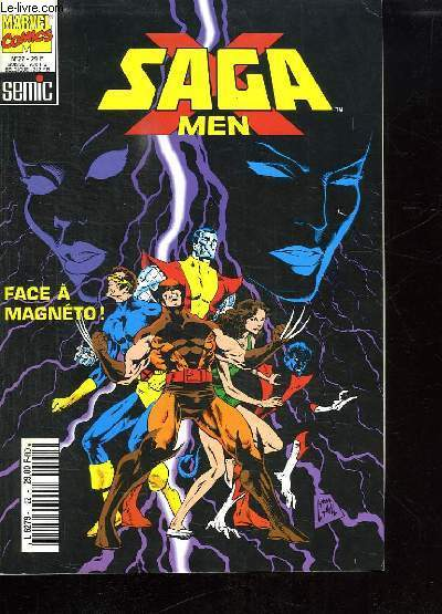 SAGA MEN N° 22. FACE A MAGNETO.
