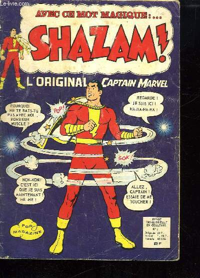 SHAZAM ! N° 5. L ORIGINAL CAPTAIN MARVEL.