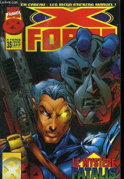 X FORCE N° 35. LE CHATEAU DES HORREURS.