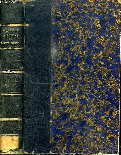 HISTOIRE DE L ART GREC AVANT PERICLES. DEUXIEME EDITION.