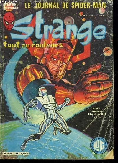 STRANGE N° 156. DECEMBRE 1982. L EVASION.