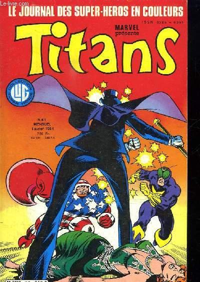 TITANS N° 61. L HISTOIRE DE SHIRA.