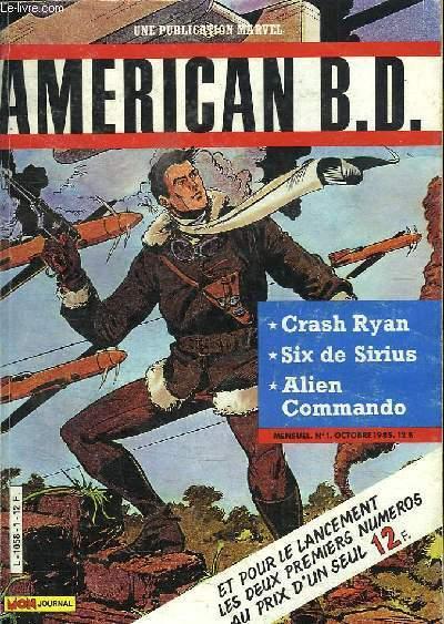AMERICAN BD N° 1 ET 2.