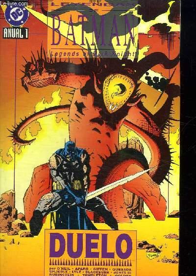 LEYENDAS DE BATMAN 1. TEXTE EN ESPAGNOLE.