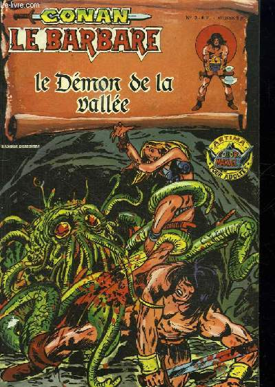 CONAN LE BARBARE N° 2. LE DEMON DE LA VALLEE.