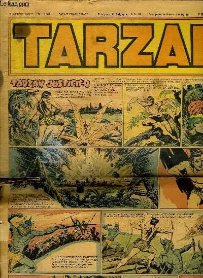 TARZAN N° 158. 2 OCTOBRE  1949. TARZAN JUSTICIER.