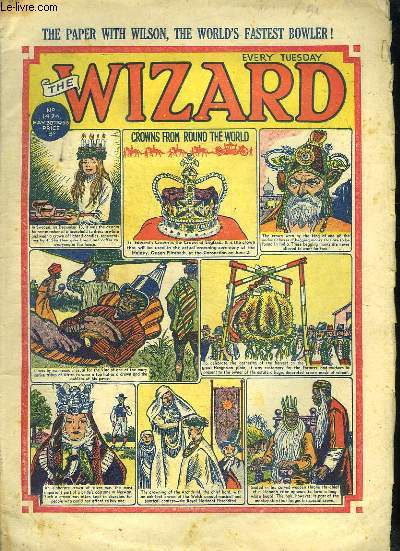 THE WIZARD N° 1424. 30 MAY 1953. EN ANGLAIS.