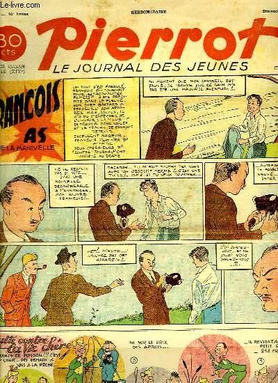 PIERROT N° 21. FRANCOIS AS DE LA MANIVELLE.