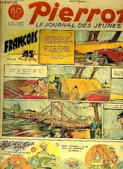 PIERROT N° 17. FRANCOIS AS DE LA MANIVELLE.