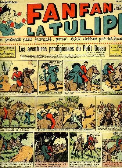 FANFAN LA TULIPE N° 8. 1 ER ANNEE. LES AVENTURES PRODIGIEUSES DU PETIT BOSSU.