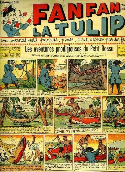 FANFAN LA TULIPE N° 3. LES AVENTURES PRODIGIEUSES DU PETIT BOSSU.