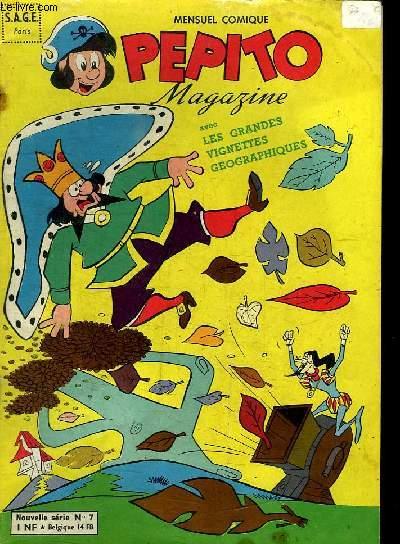 PEPITO MAGAZINE N° 7. LA DYNAMITE A PATTES.