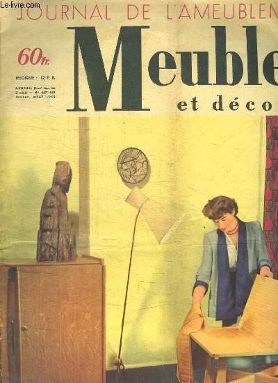 JOURNAL DE L AMEUBLEMENT. MEUBLES ET DECORS N° 647 - 648.