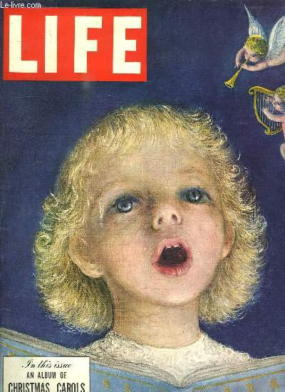 LIFE 22 DECEMBRE 1947. TEXTE EN ANGLAIS.