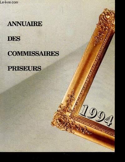 ANNUAIRE DES COMMISSAIRES PRISEURS. FRANCE 1994.