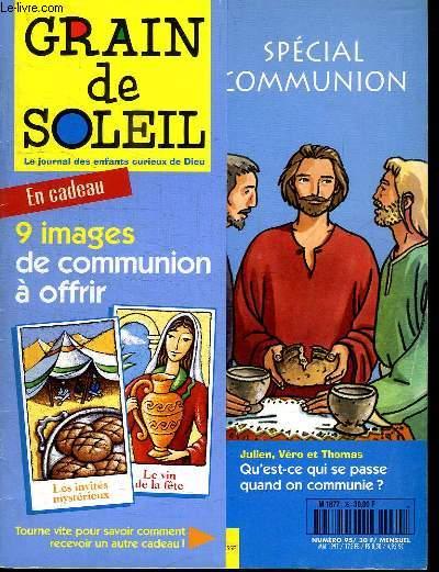 GRAIN DE SOLEIL N° 95. LE JOURNAL DES ENFANTS CURIEUX DE DIEU.