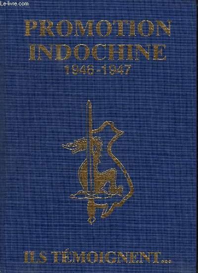 PROMOTION INDOCHINE. 7 EM SERIE COETQUIDAN DALAT 1946 - 1947. UNE SACREE PROMO...
