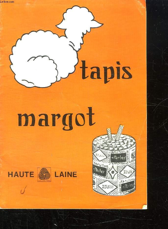 TAPIS MARGOT. HAUTE LAINE.
