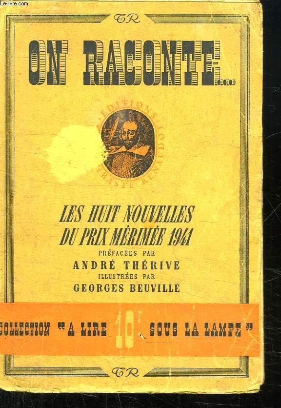 ON RACONTE ... LES HUIT NOUVELLES DU PRIX MERIMEE 1941.