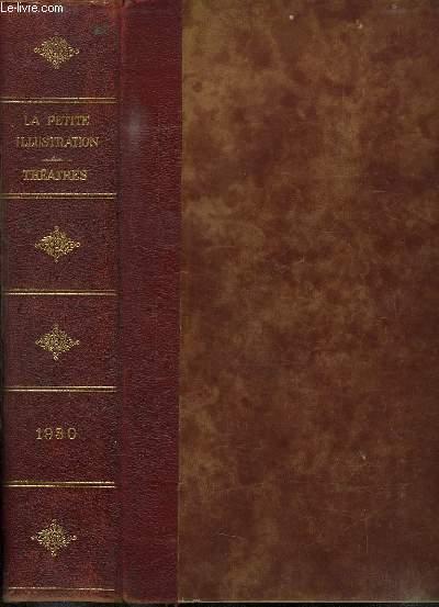 LA PETITE ILLUSTRATION DU N° 461 THEATRE N° 248 AU N° 506 CINEMA N° 16.