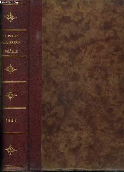 RECUEIL LA PETITE ILLUSTRATION 1925. DU N° 225 THEATRE N° 134 AU N° 267 THEATRE N° 154.